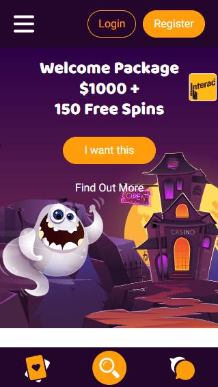 Boo Casino mobiili