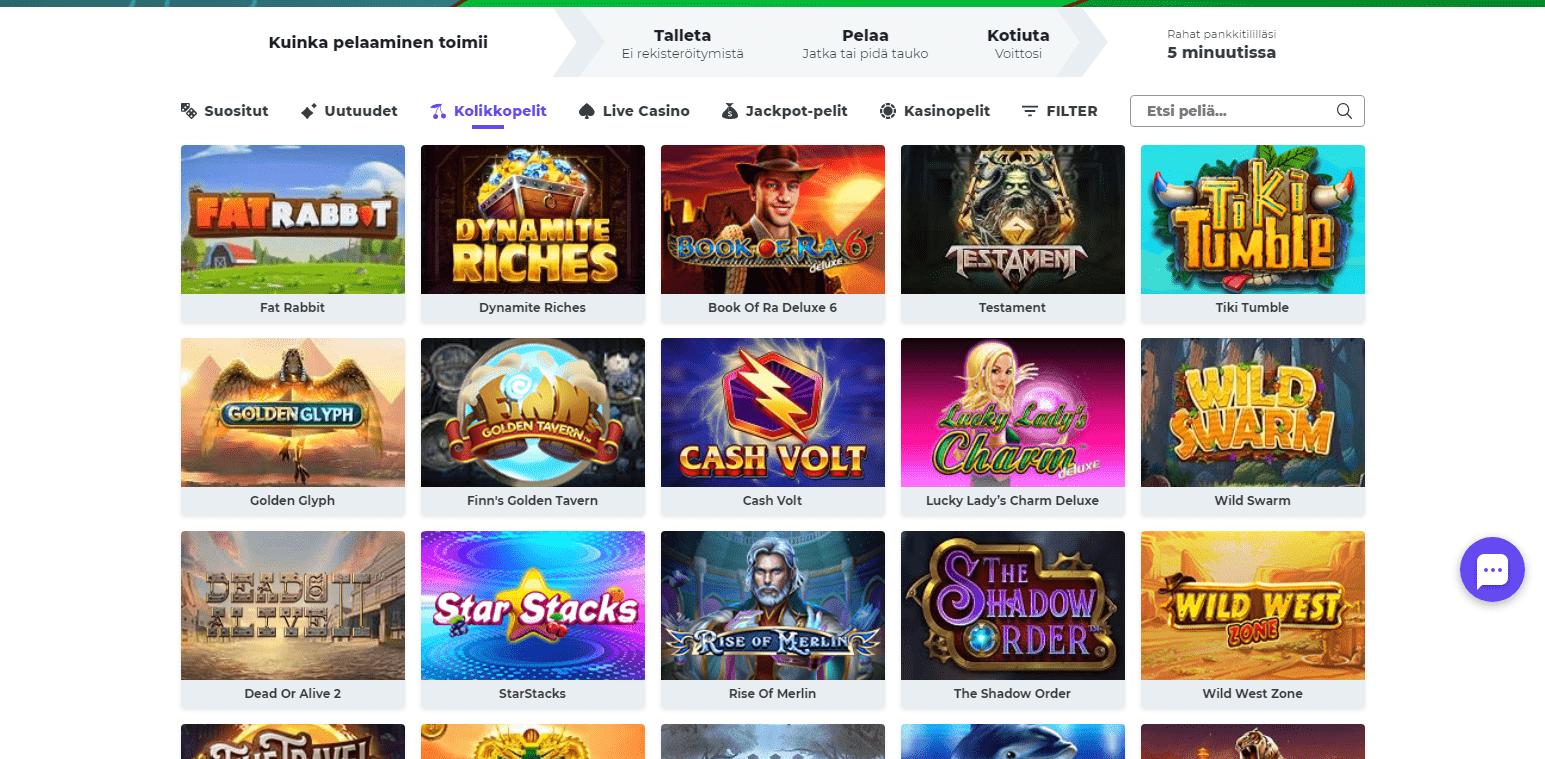 Boost Casino korttipelit