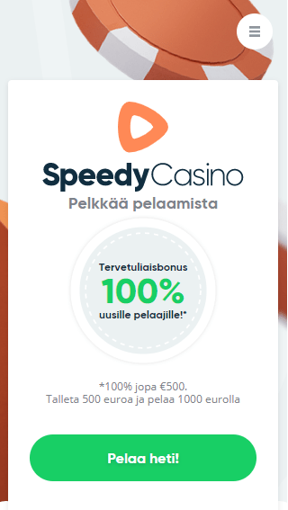 Speedy Casino mobiili
